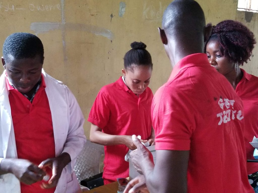 Health Outreach at Womens August Meeting in Mbano Imo State2