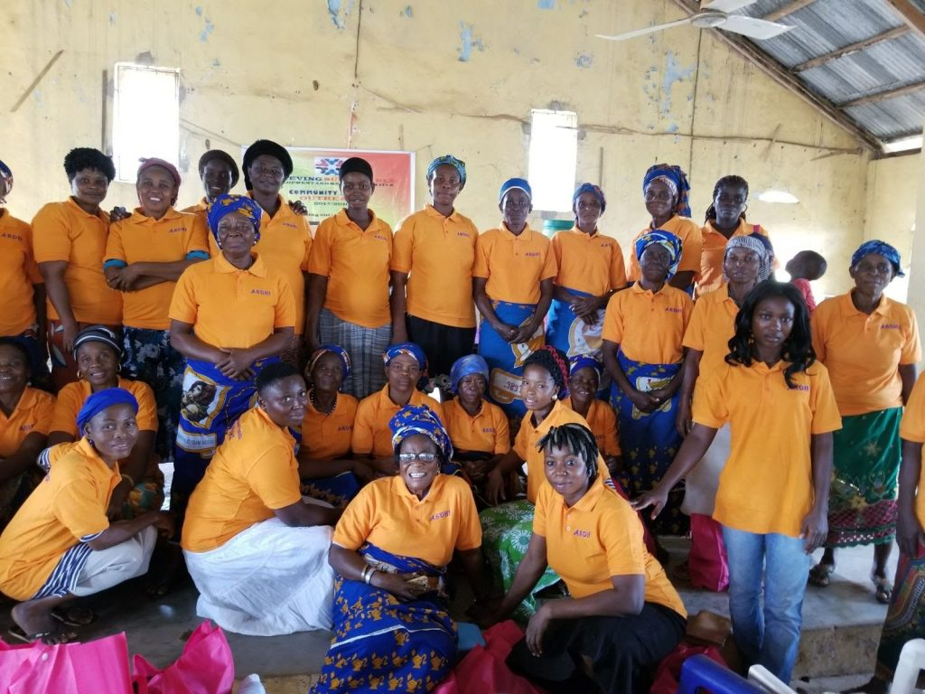Skills building session for women in Ogbor, Mbano, Imo State